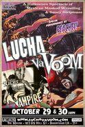 Lucha VaVoom Halloween 2014 Poster