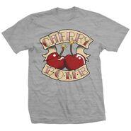 Cherry Bomb Gray T-Shirt