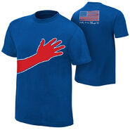 Jack Swagger We The People Blue T-Shirt