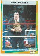 1995 WWF Wrestling Trading Cards (Merlin) Paul Bearer 77