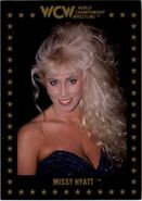 1991 WCW Collectible Trading Cards (Championship Marketing) Missy Hyatt 81