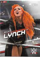 2016 WWE Divas Revolution Wrestling (Topps) Becky Lynch 16