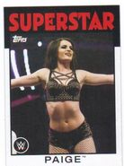 2016 WWE Heritage Wrestling Cards (Topps) Paige 51
