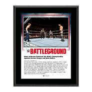 Dean Ambrose Battleground 2016 10 x 13 Commemorative Photo Plaque