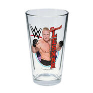 Brock Lesnar Toon Tumbler Pint Glass