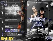 WWF Wrestlemania XXV - Cover