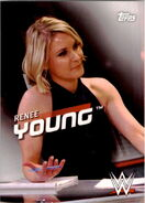 2016 WWE Divas Revolution Wrestling (Topps) Renee Young 31