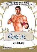 2016 Leaf Signature Series Wrestling Zodiac 92