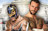 CP 2011 Mysterio v Punk
