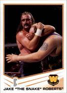 2013 WWE (Topps) Jake Roberts 95