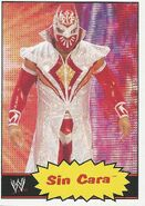 2012 WWE Heritage Trading Cards Sin Cara 37