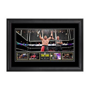 NXT Takeover The End 13 x 21 Framed Photo Collage