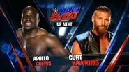 Apollo Crews vs Curt Hawkins