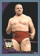 2010 WWE (Topps) Nikolai Volkoff 86
