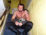 Mandrake as Irish Whip International Heavyweight Champion