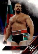 2016 WWE (Topps) Rusev 38