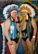 Jules and Chief Jay Strongbow