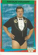 1995 WWF Wrestling Trading Cards (Merlin) Nikolai Volkoff 18
