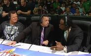 Jerry Lawler, Michael Cole & Booker T