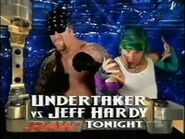 Undertaker vs Jeff Hardy