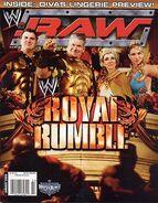 WWE Raw Magazine January 2006