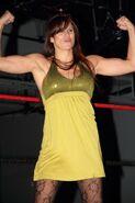 Jackie Haas Flexing
