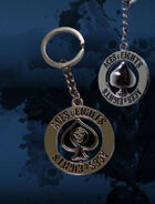 Aces & Eights Spinning Keychain