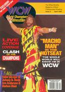 WCW Magazine - April 1995