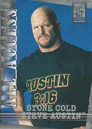 2002 WWF All Access (Fleer) Stone Cold Steve Austin 35