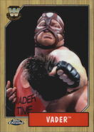 2008 WWE Heritage III Chrome Trading Cards Vader 87