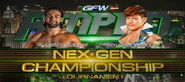 GFW NexGen Title Tournament (Black vs Sanada)