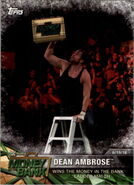 2017 WWE Road to WrestleMania Trading Cards (Topps) Dean Ambrose 92