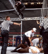 Mankind vs The Undertaker Hell in a Cell Match King of the Ring 1998 24