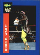 1991 WWF Classic Superstars Cards Koko B. Ware 53