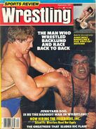 Sports Review Wrestling - September 1981