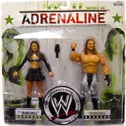 WWE Wrestling Adrenaline Series 33 Katie Lee Burchill & Paul Burchill
