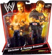 WWE Battle Packs 4 Christian & Tommy Dreamer