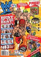 WWE Kids Magazine Holiday 2009