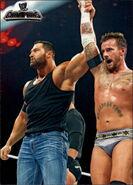 2011 Topps WWE Champions Wrestling Mason Ryan 44