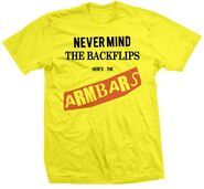 Zack Sabre, Jr. Never Mind The Backflips, Here's The Armbars Shirt