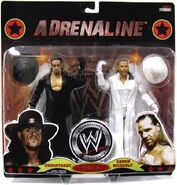 WWE Wrestling Adrenaline Series 39 Undertaker & Shawn Michaels
