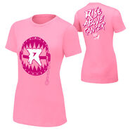 Ryback Rise Above Cancer Pink Women's Authentic T-Shirt