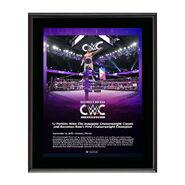 TJ Perkins Cruiserweight Classic 2016 15 x 17 Commemorative Plaque