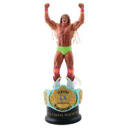Ultimate Warrior Championship Title Collection Statue
