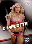 2016 WWE Divas Revolution Wrestling (Topps) Charlotte 19