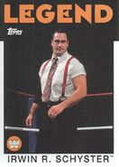 2016 WWE Heritage Wrestling Cards (Topps) Irwin R. Schyster 84