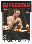 2016 WWE Heritage Wrestling Cards (Topps) Aiden English 56