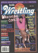 Inside Wrestling - July 1995