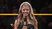 Alexa Bliss Ring Announcer