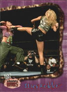 2002 WWE Absolute Divas (Fleer) Stacy Keibler 40